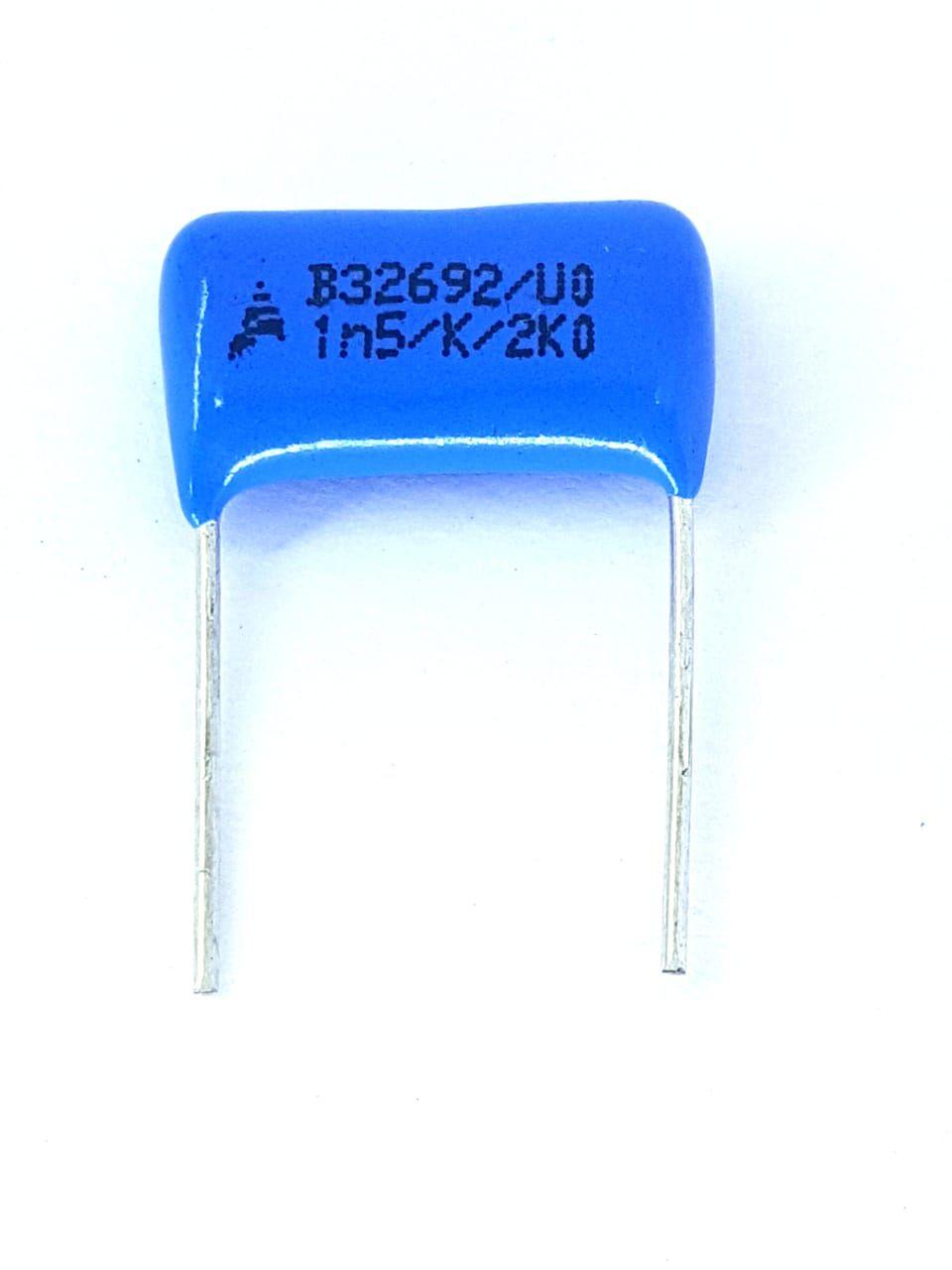 50 peças Capacitor poliéster 1Ks x 2000V B32692 Epcos