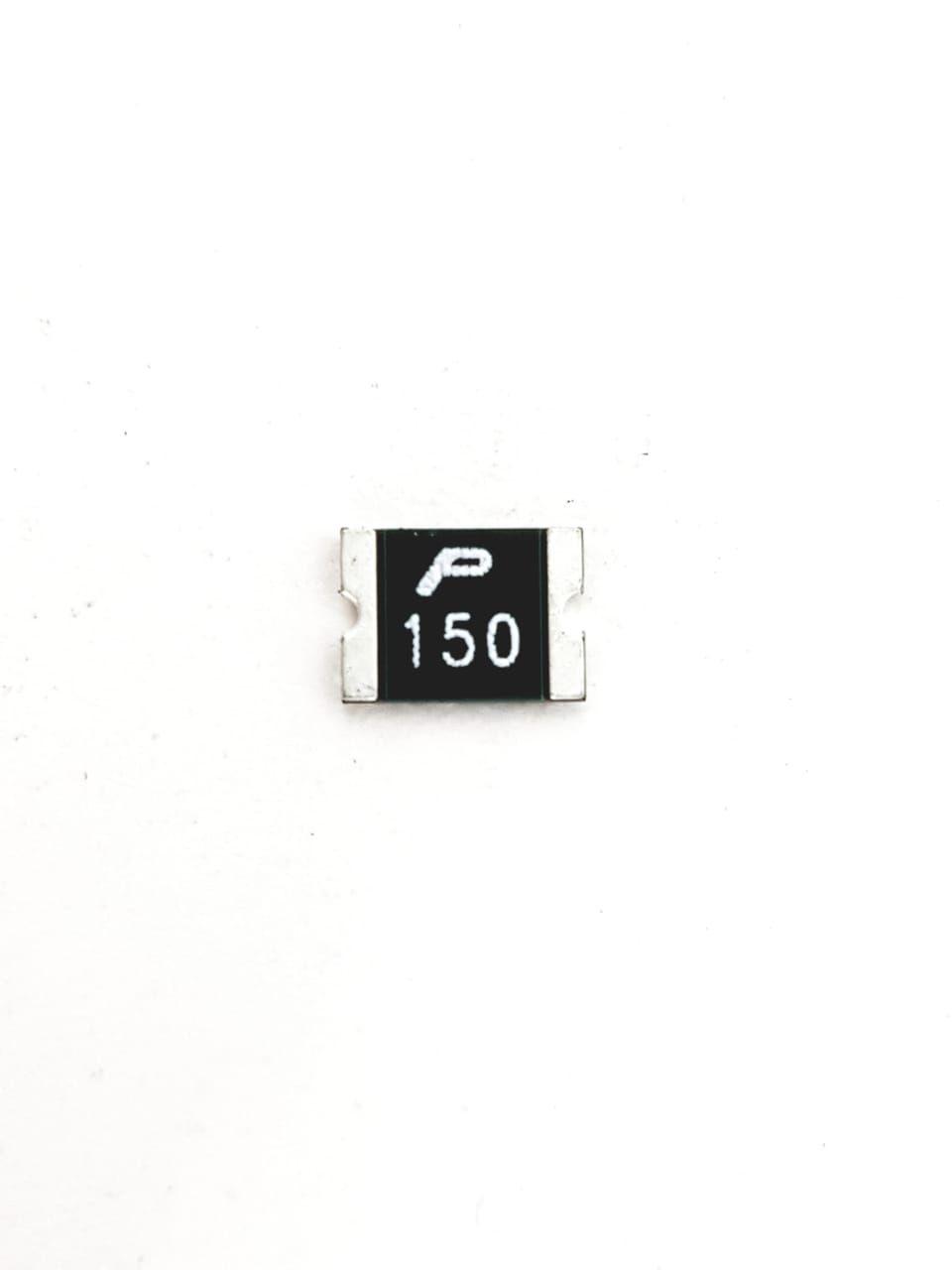 50 peças Fusível em SMD 1-5 AMP x 8V 0,5 x 0,3 Marking 150