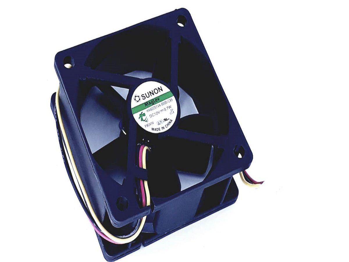 50 Peças Micro Ventilador 60x60 25mm Fan Cooler 12v