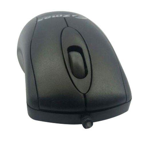 Mouse Sensor Óptico Scroll Roller Black Piano Ms3202-1 Preto