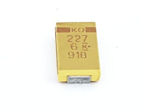 10 Peças Capacitor Tântalo Smd 7343 220ufx6,3v 220 Uf