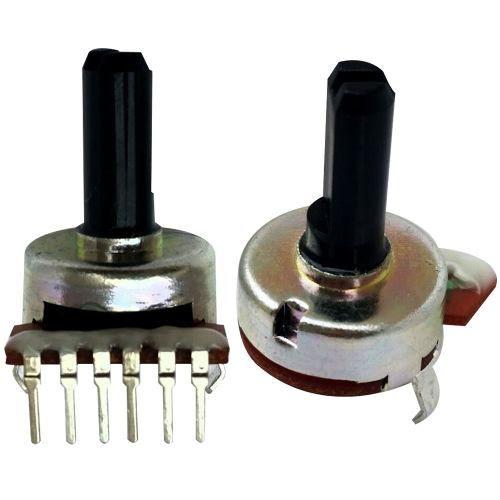 Potenciômetro Rotativo 6 Terminais Volume A50k 503