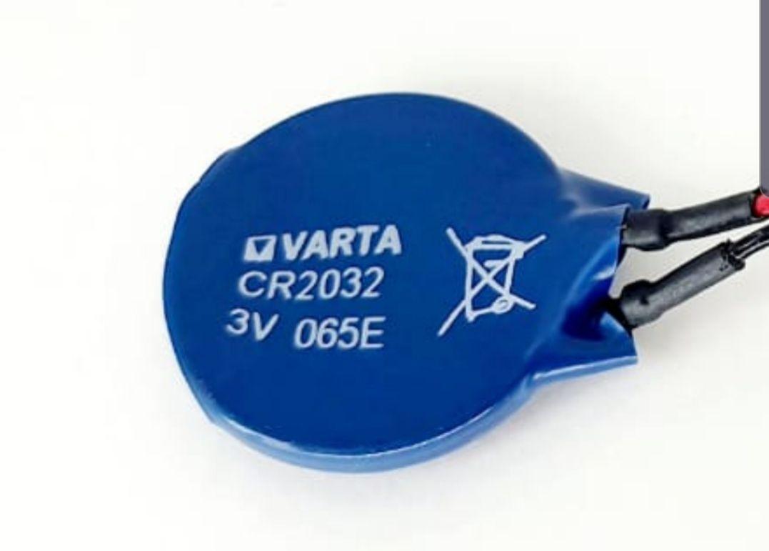 5 peças Bateria Interna para Bios Placa de Notebook CR2032 3v Varta