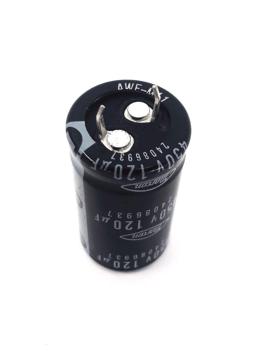 5 peças Capacitor Eletrolítico 120uf x 450v 85°