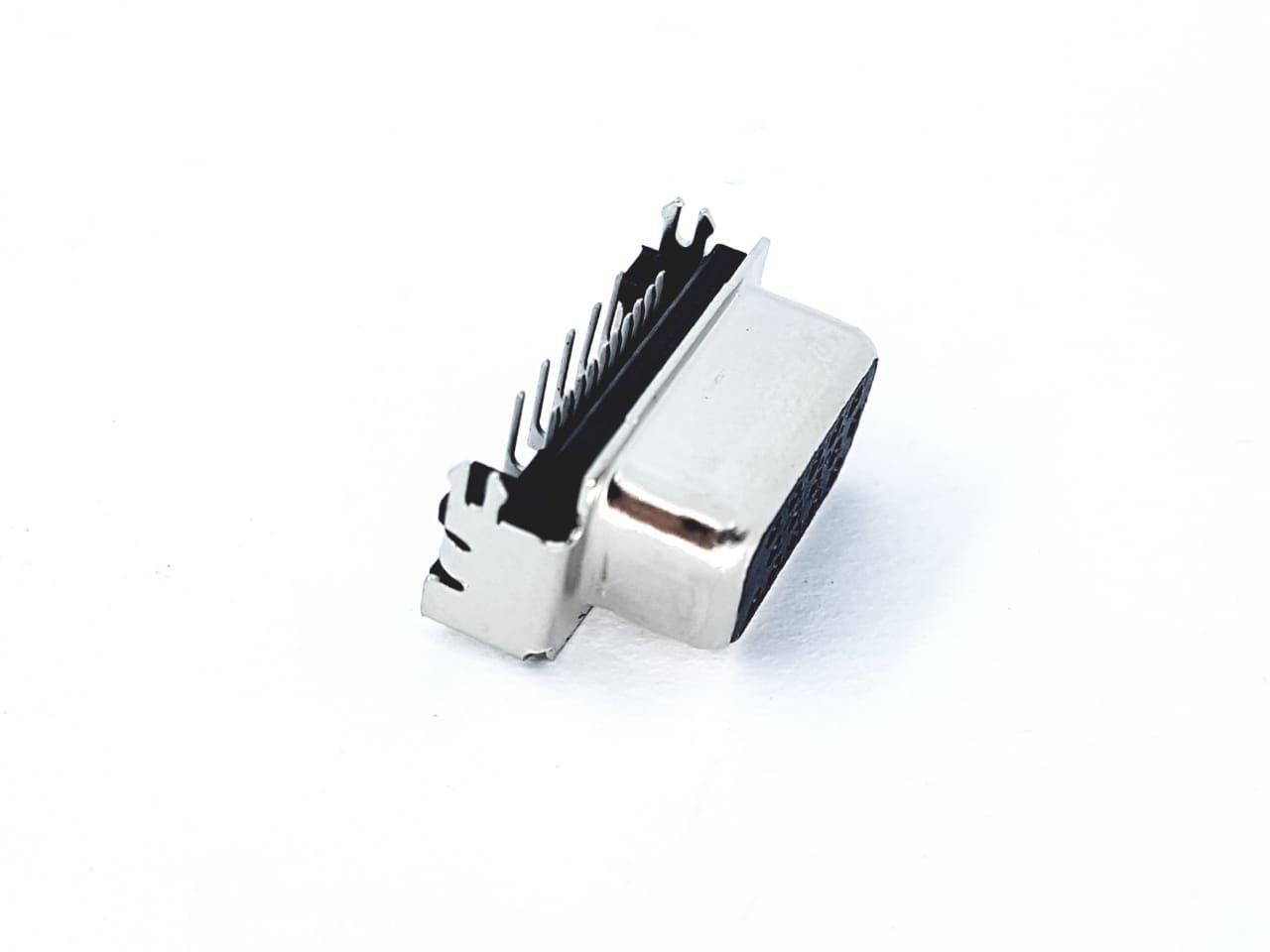 5 peças Conector DB15 Fêmea - 2 fileiras