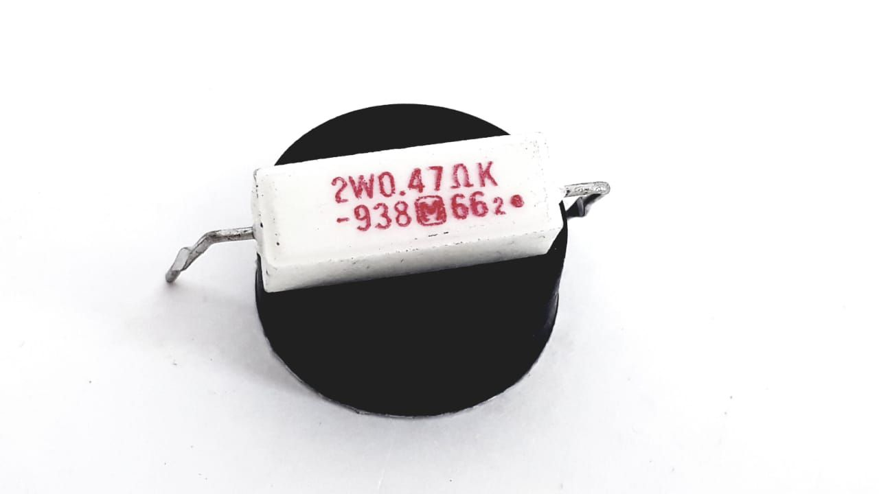 5 Peças Fusistor Or47 2w Para Tv Semp Toshiba Tv2889