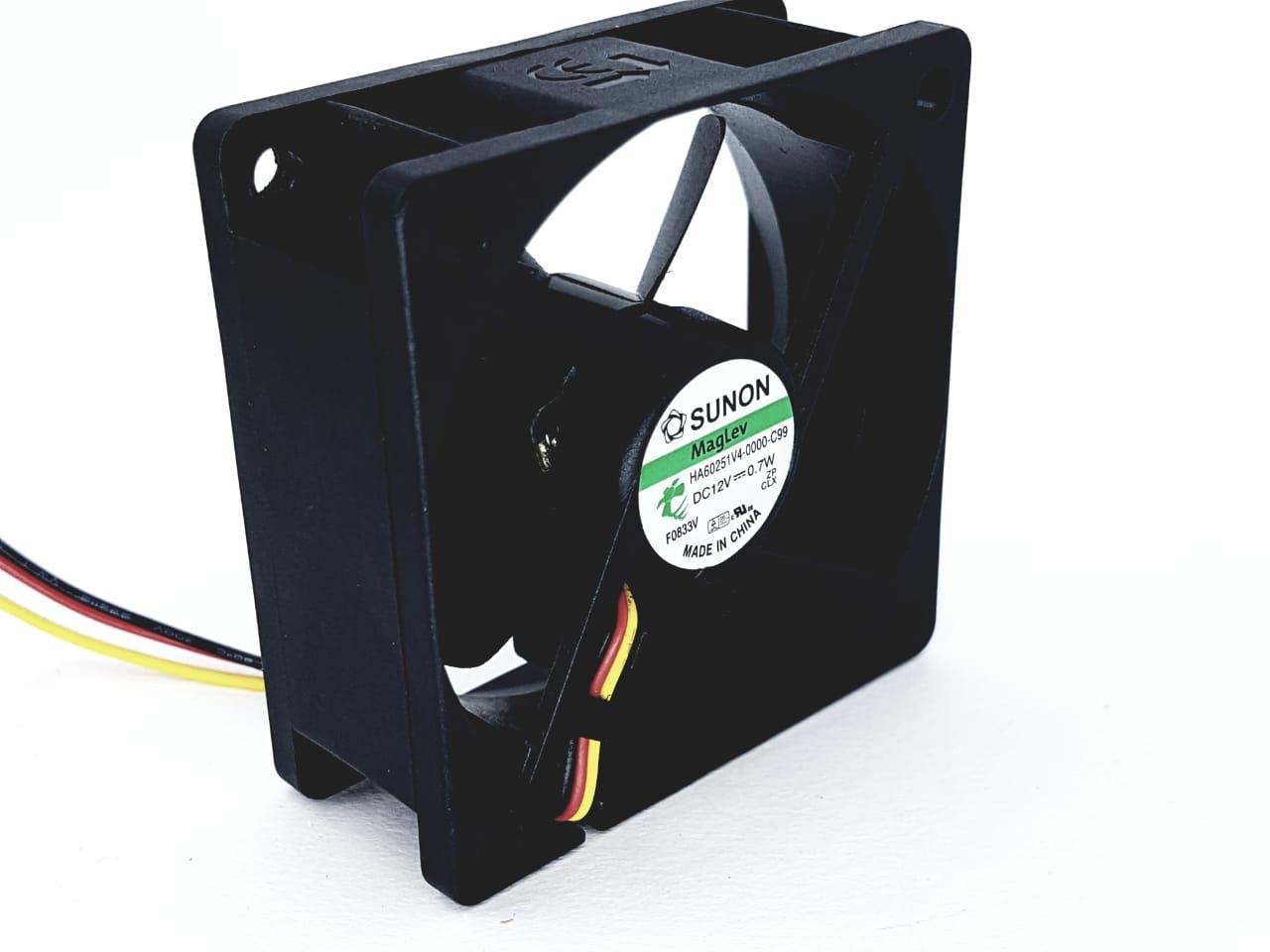 5 Peças Micro Ventilador 60x60 25mm Fan Cooler 12v