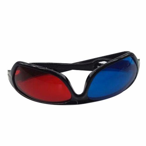 2 peças Óculos 3d Azul E Vermelho Resistente Novo Anaglífico