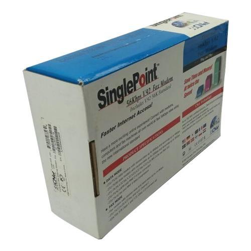 6 peças Fax Modem External 56k V.90 V.92 Rs232 Cnet 5614xr