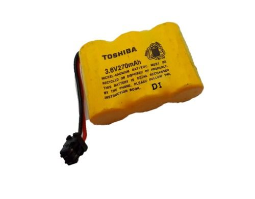 Bateria Para Telefone Sem Fio Toshiba Ft 7505 - Ft9006bk - 1.600 peças