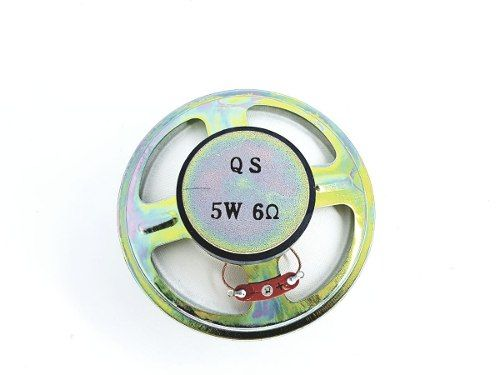 Kit com 6 peças Alto Falante 3,5 Polegadas 6 Ohms 5 W da marca QS modelo: Rg 8170-8172