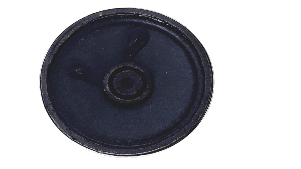 1 Peça Alto falante 2,16 Polegadas 32 Ohms 0,5 W na cor preta da marca NH