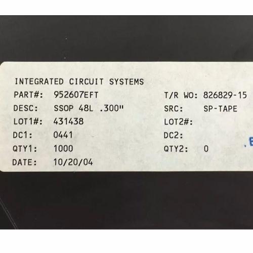Ci Circuito Integrado Ics 952607ef- 952607 Novo Original