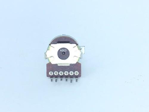 Potenciômetro Giratório Rotativo 6 Terminais 50k A503