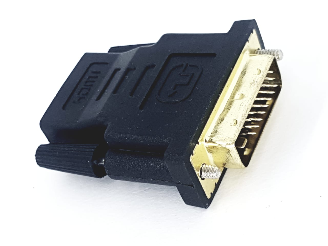 Adaptador Conversor DVI (M) para saída HDMI (F) Novo