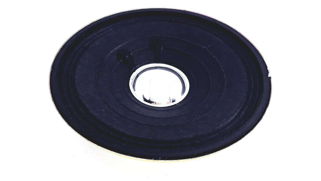 Alto falante 3,93 polegadas 8 Ohms 3 W da marca GTF na cor preta
