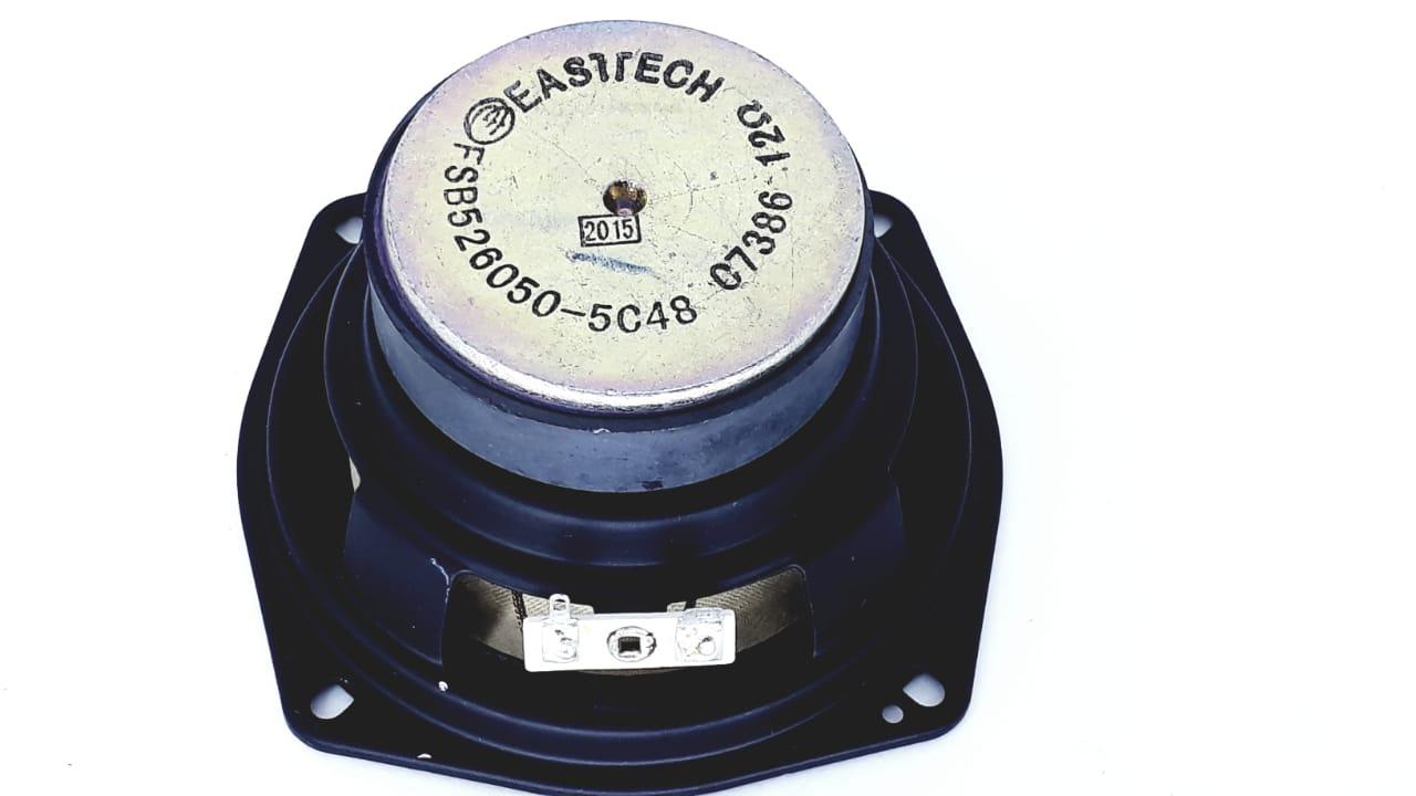 Alto Falante 4,72 Polegadas 12 Ohms Eastech para Micro System MS7760 e MS7860 na cor preta