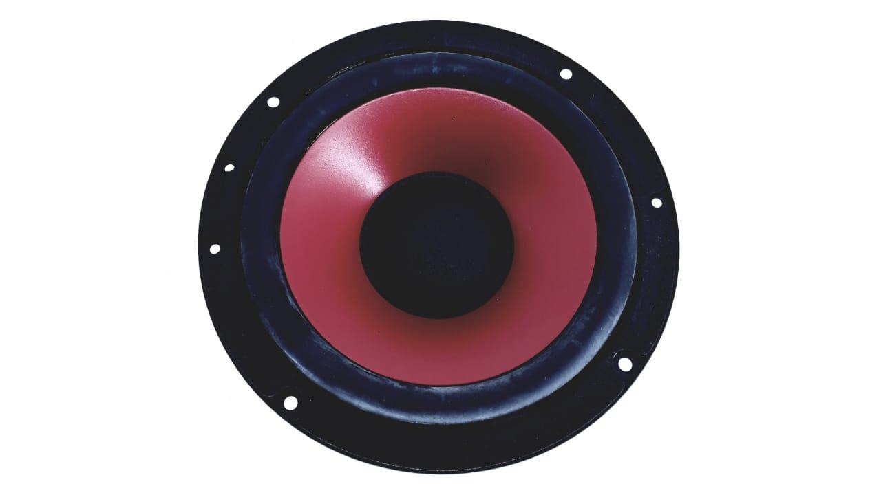 Alto Falante Woofer de 6,69 polegadas 4 Ohms 170 W na cor vermelho da marca Dongyuan  para MS8030MU