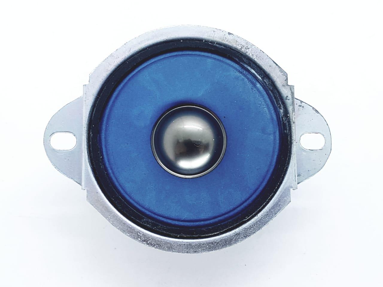 Alto Falante Tweeter 2 Polegadas 12 Ohms 50 W Azul Som Carro