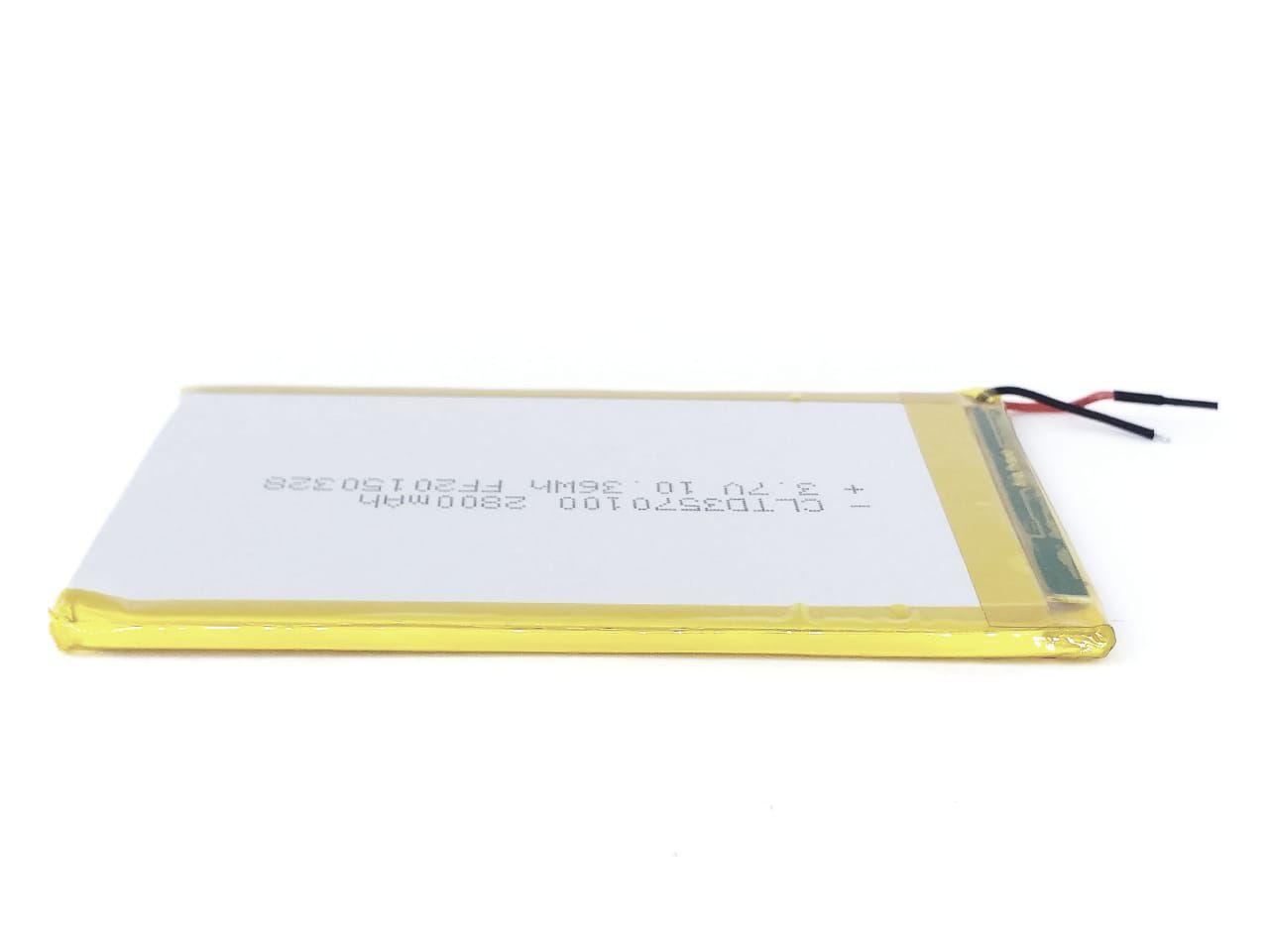 Bateria para Tablet Semp Toshiba TA0709GP ion-litio 2800mah 3.7V 36 Wh