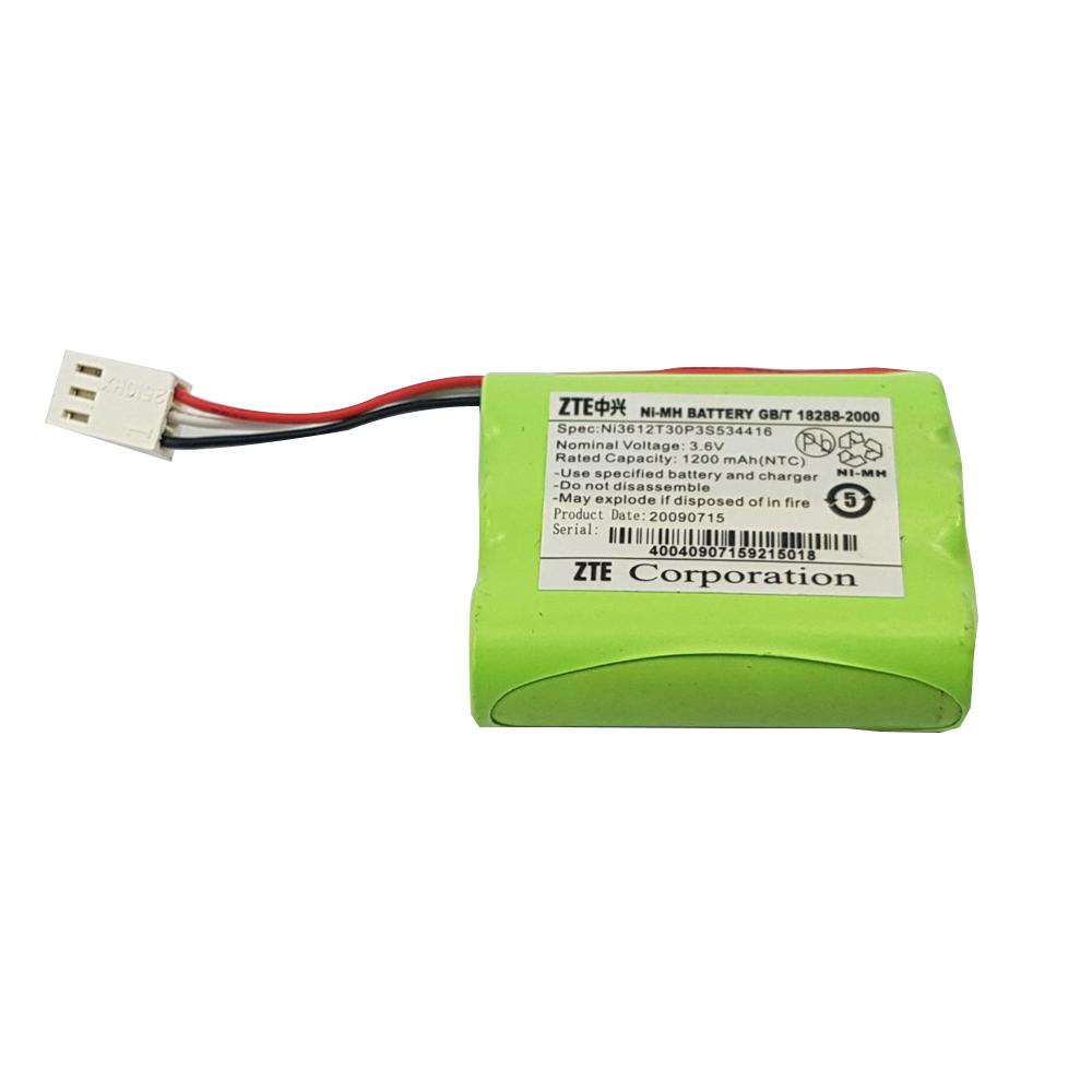 Bateria Zte 1200mah 3.6v Telefone Fixo Zte Wp623 Wp822 Wp612