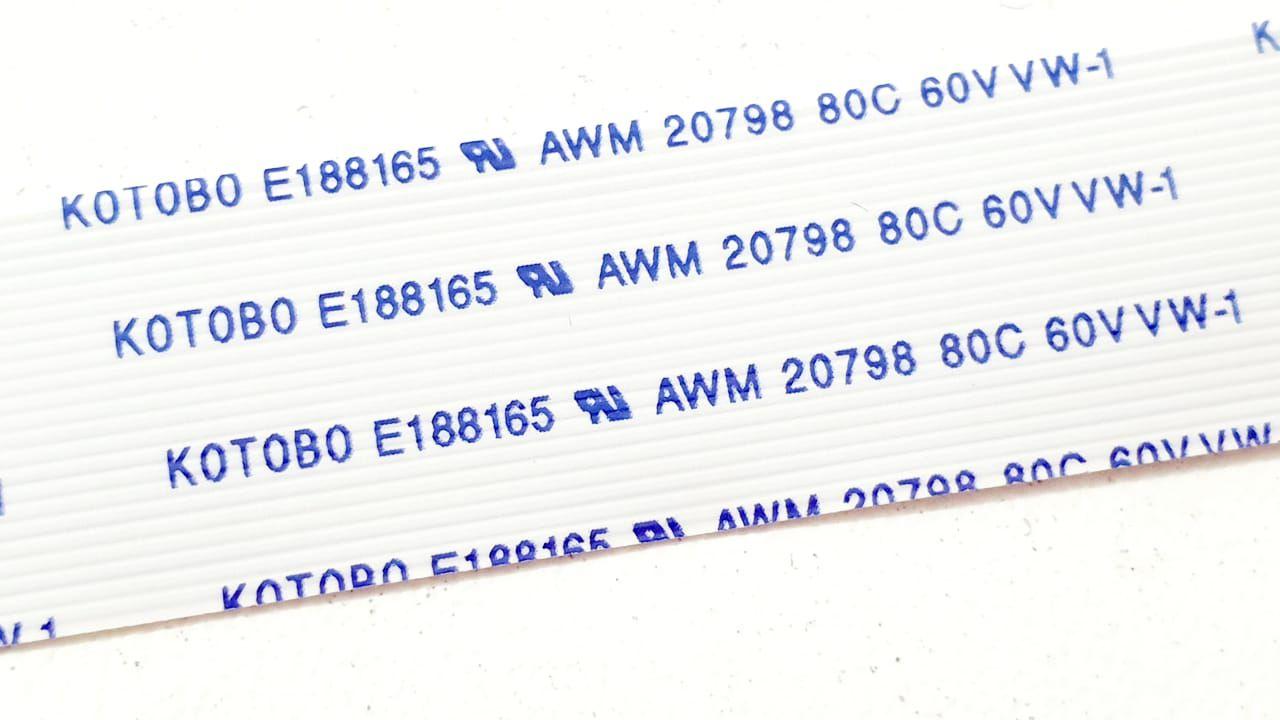 Cabo Flat 24vias 15cm Kotobo E188165