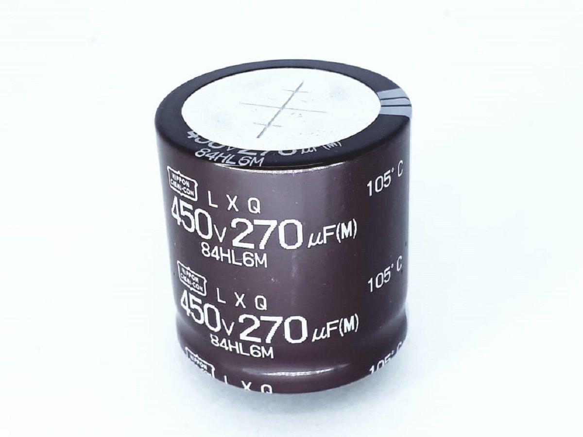 Capacitor Eletrolitico 270uf X 450v Novo