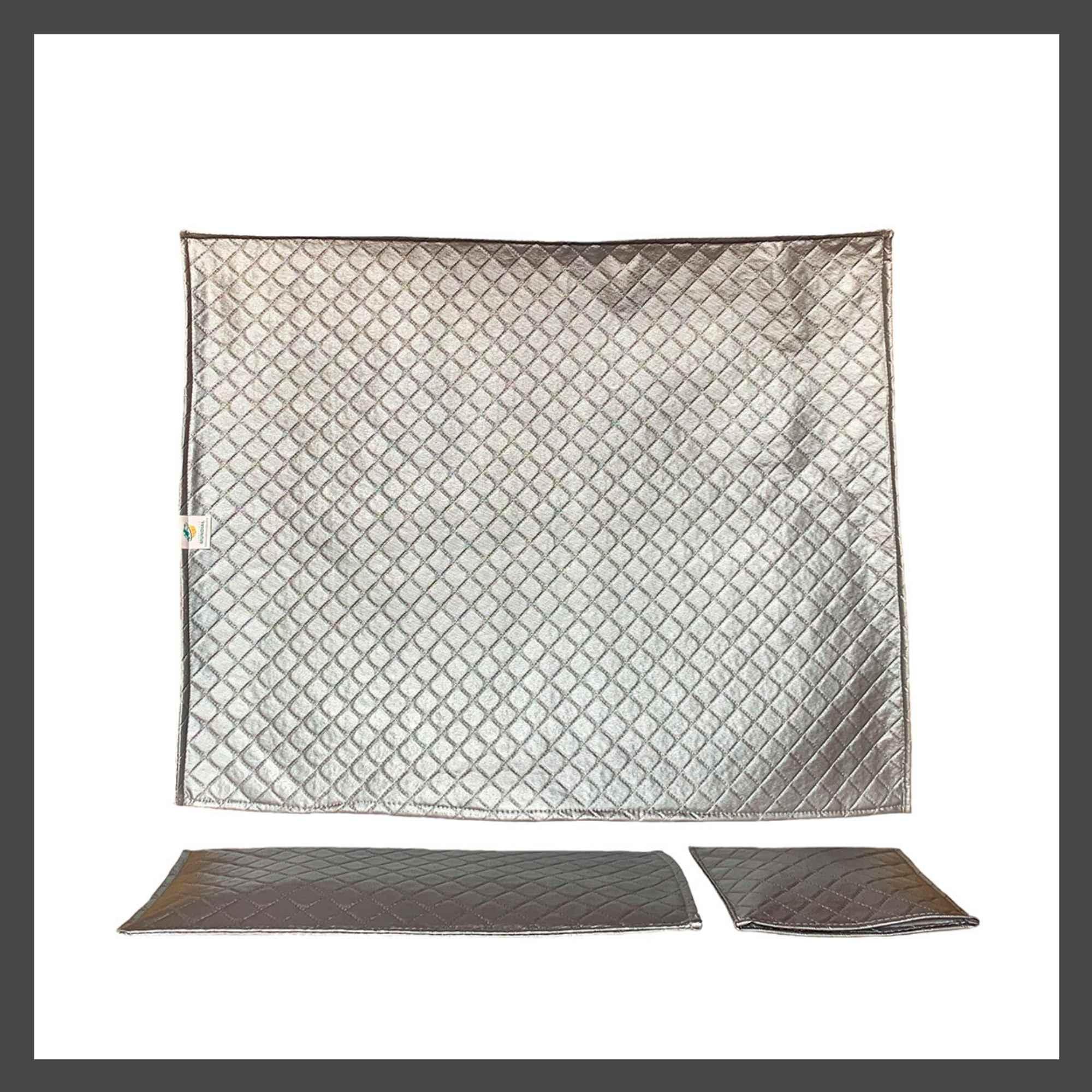 Case para Imac de  21 Polegadas na cor  Prata Cinza com  Capa de Teclado e  Capa Mouse em Corino Impermeável Super Luxo