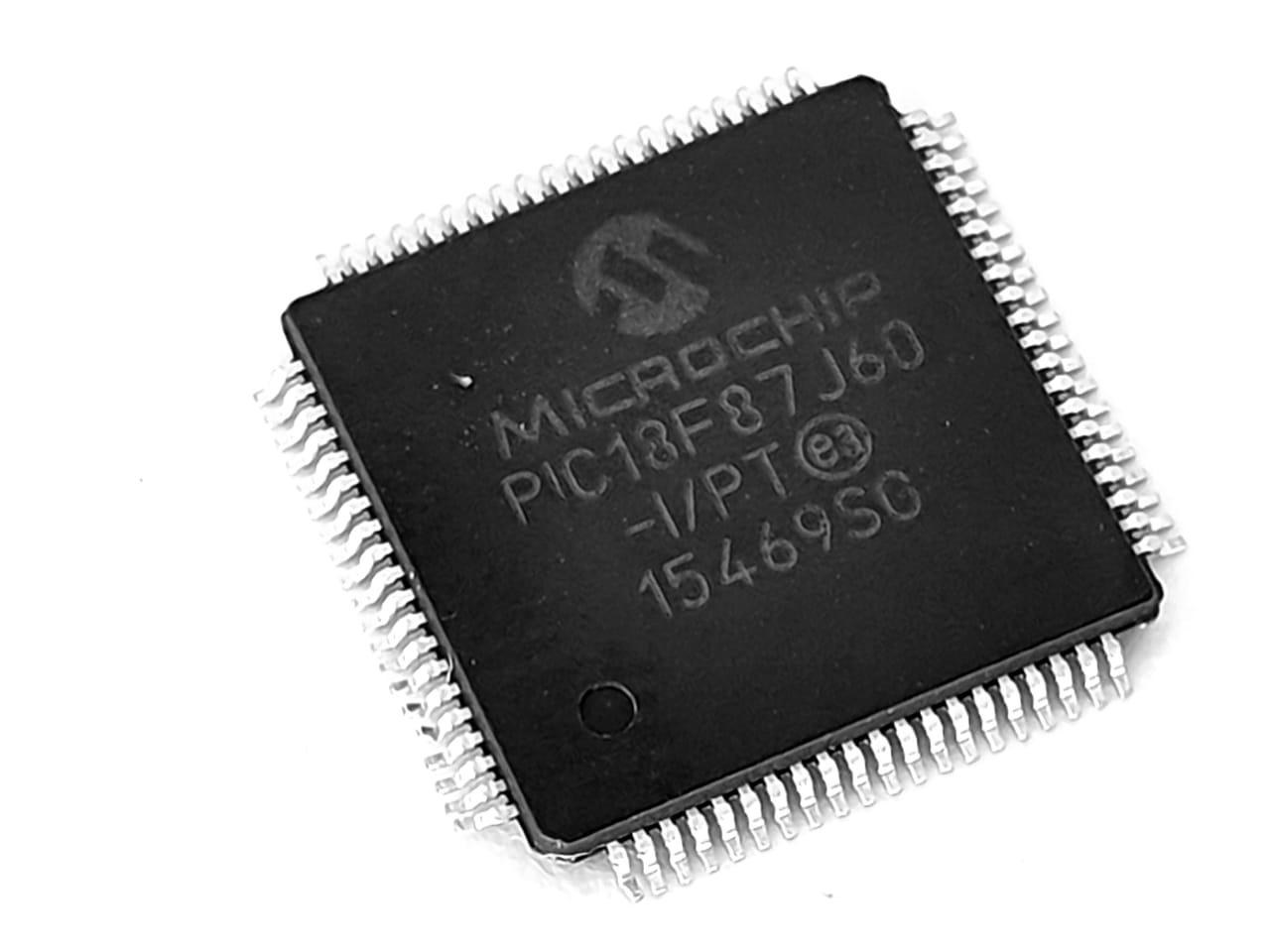 Ci Circuito Integrado Microchip PIC 18F87J60-I/PT