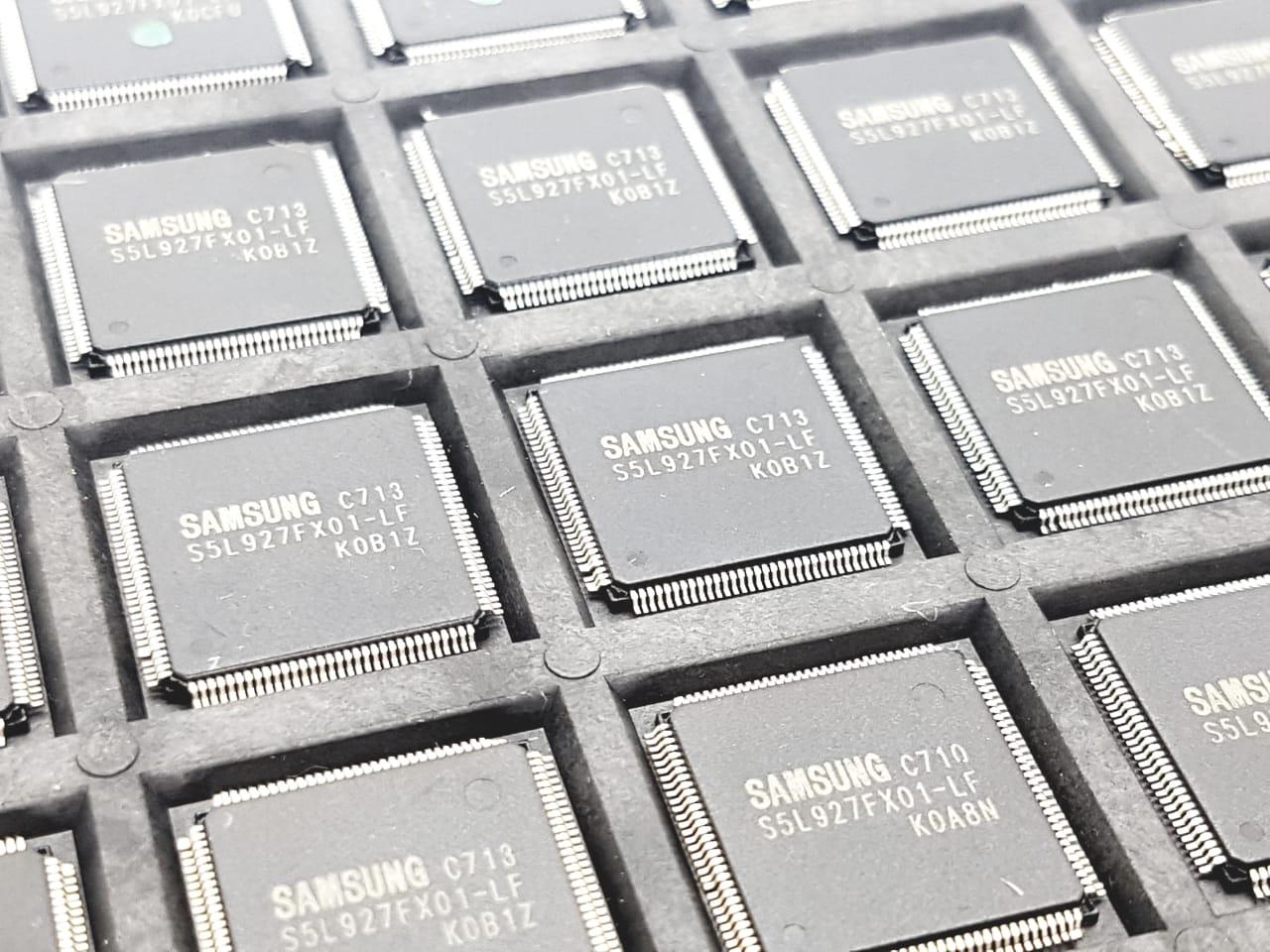 CI Circuito Integrado s5l927fx01-LF rg8172 rádio som Samsung