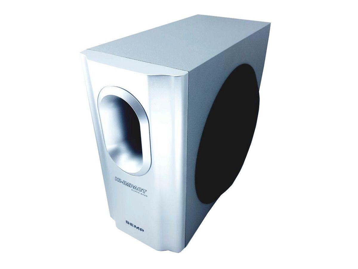Conjunto de caixa de som Semp Toshiba com Sub Subwoofer para aparelho XB1207