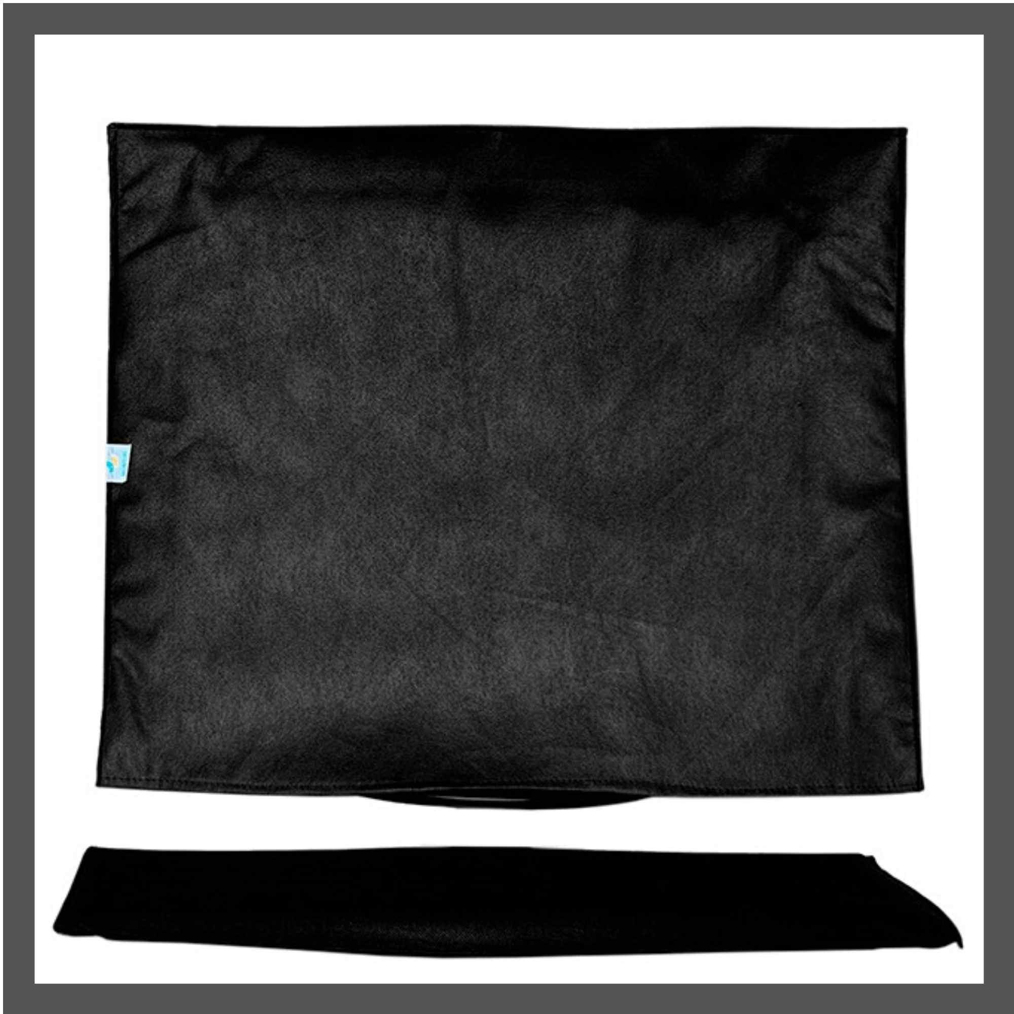 Conjunto de Capas para All In One de 27 polegadas e Teclado na cor preta em TNT