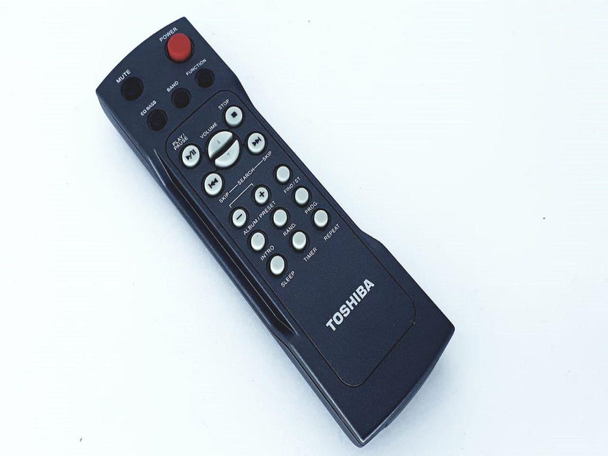 Controle Remoto CR4240 para  Micro System modelo MC667MU da marca Semp Toshiba Original