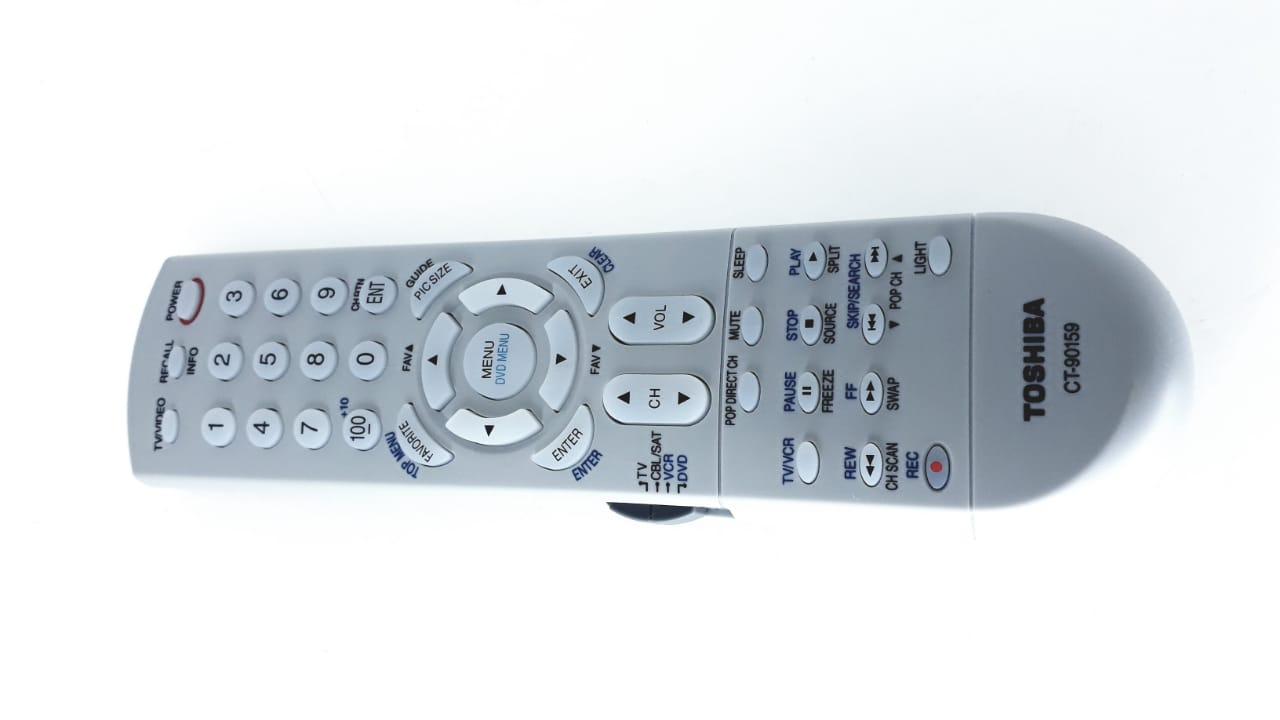 Controle Remoto  CT90159 para Tv modelo 62H84  da marca Semp Toshiba Original