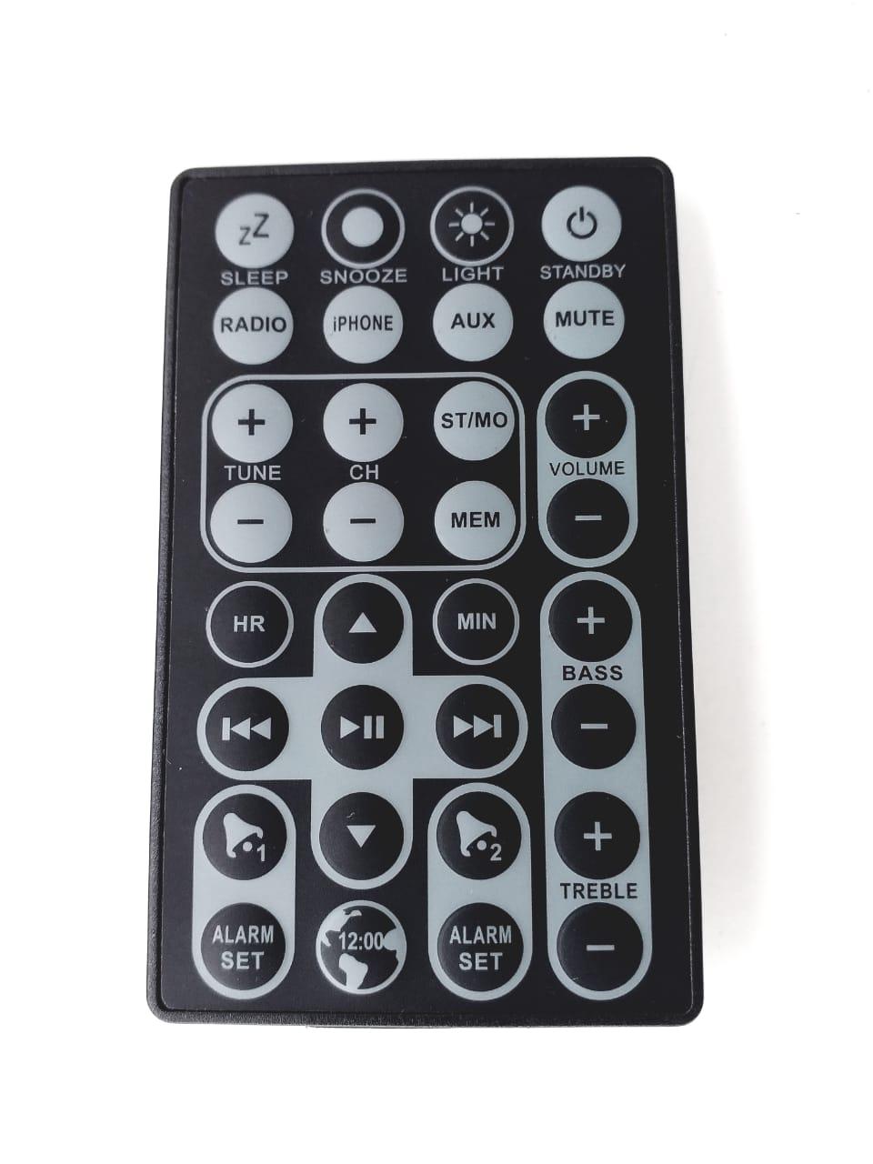 Controle remoto para Dock Station STI 2525L 4545L 4555  modelo do controle CR4360