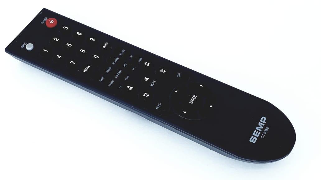 Controle remoto para TV LC2245W da marca Semp Toshiba modelo CT6380 Original