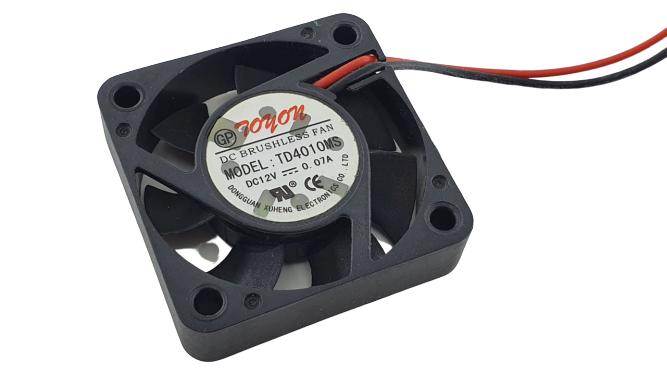 Cooler Microventilador 12v X 0.07a 40x40x10mm Com Conector