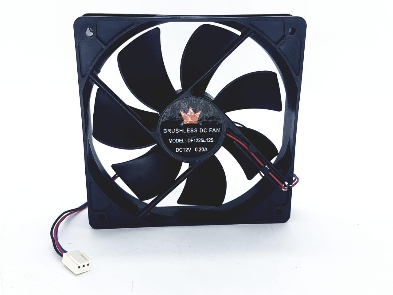 Cooler para gabinete  120x120x25 mm DF1225L-12S 12V 0,20A 120 x 120 Fan
