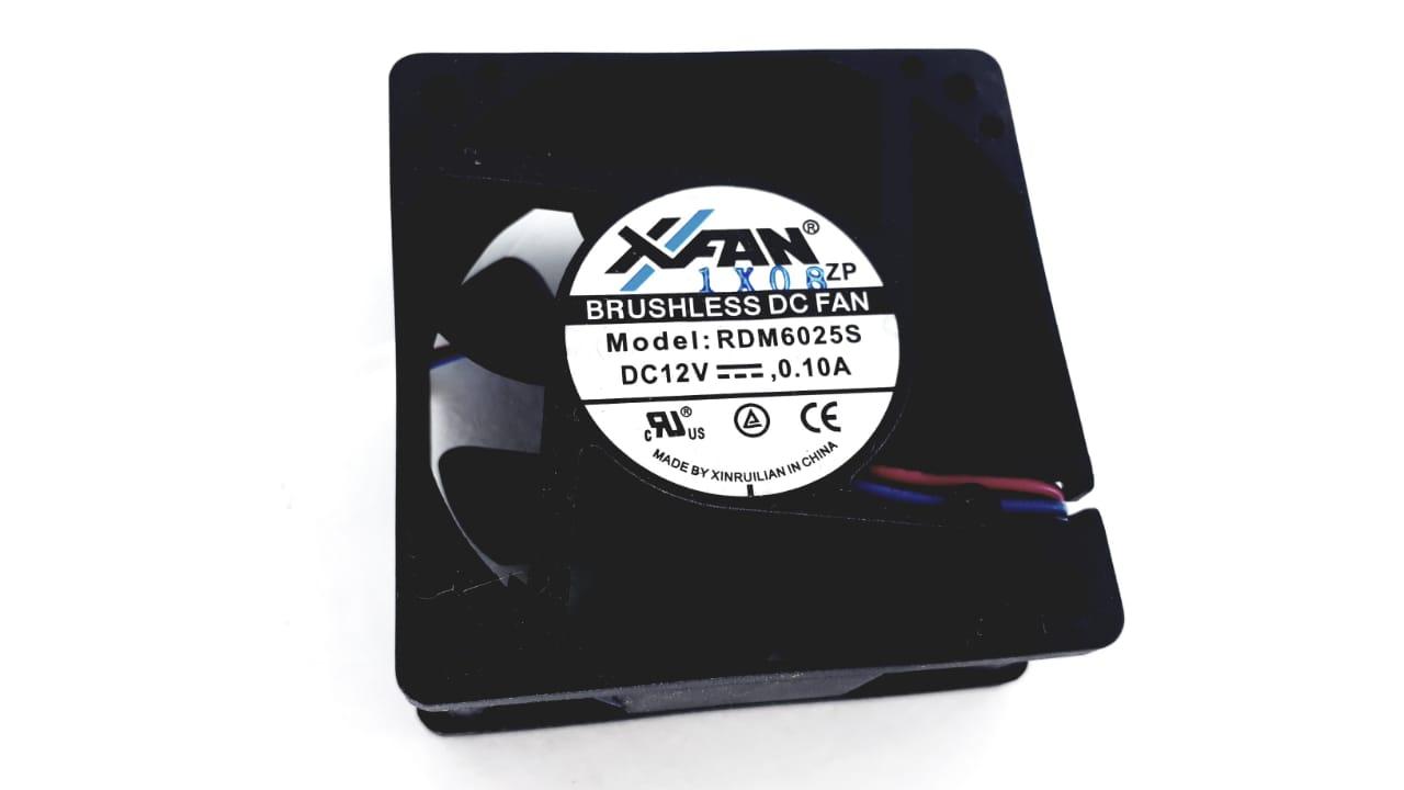 Cooler para Mini System da marca Xfan 12V  0.10A para modelo MS7945MU e MS7980MU