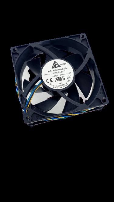 Cooler QUR0912VH 90x90x25 12v 0.60a 4 pinos