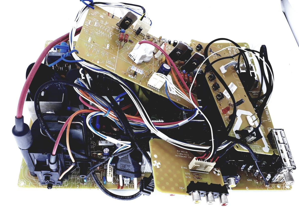 Placa Principal para TV de Tubo da marca Semp Toshiba modelo  TV 2922-FS7 LEM9
