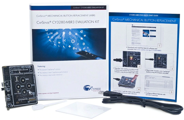 CY3280-MBR3 CapSense MBR3 Evaluation Kit