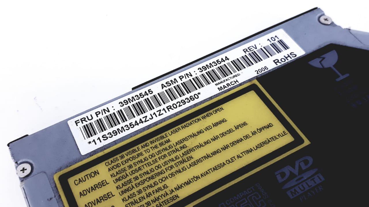 Drive Interno Notebook Slim Ibm 39m3545 Cd-rw Dvd