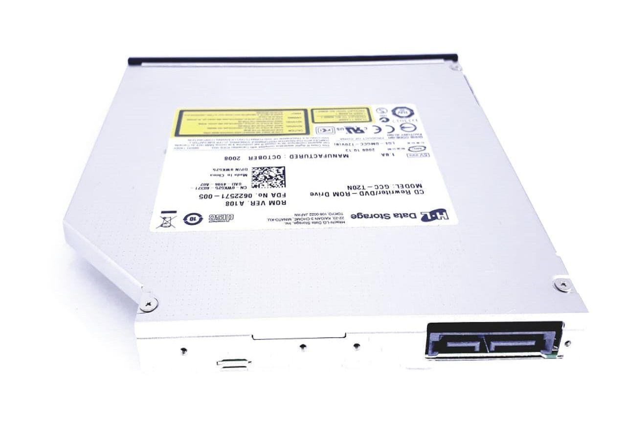 Drive Notebook Sata Gcc-t20n Wk525 H600k C796j Dell A860