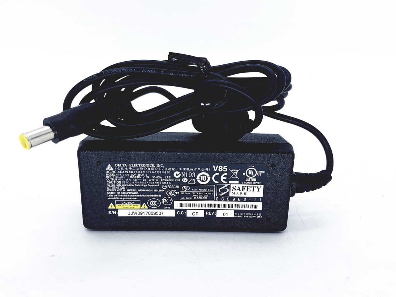 Fonte delta 12 v 3 amp para monitor LG ADP-36CH