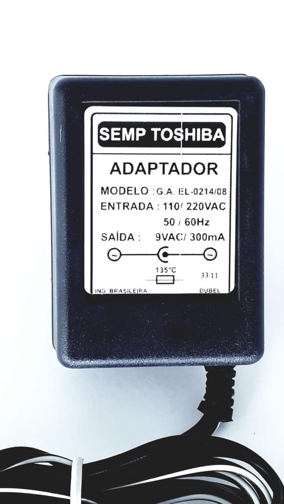 Fonte para telefone Sem fio da Marca Semp Toshiba Modelo FT1909