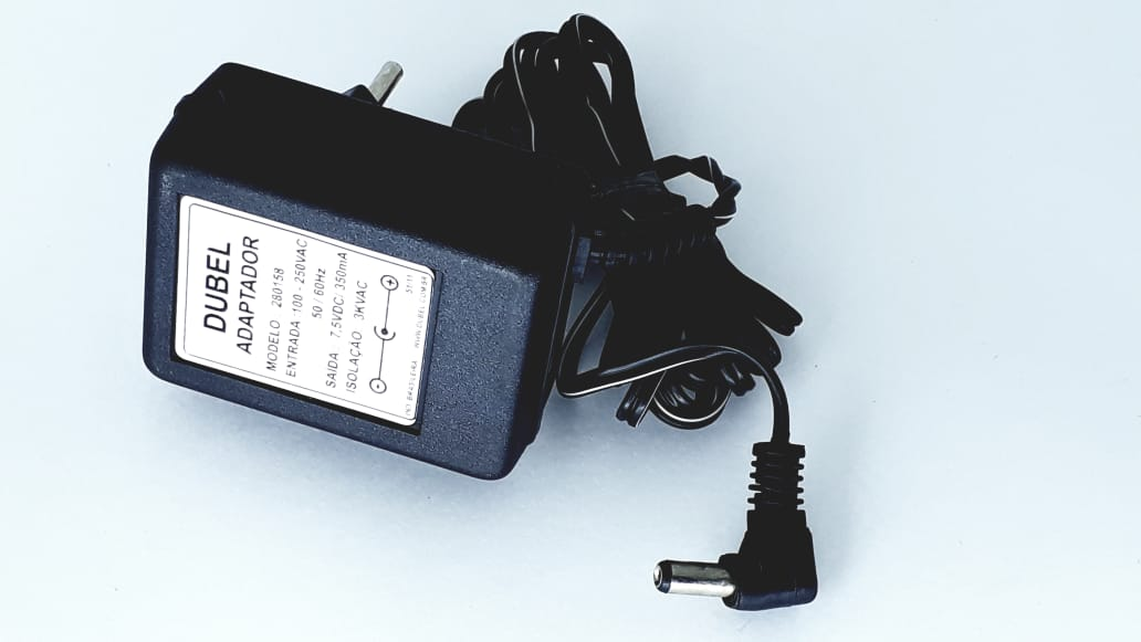 Fonte para telefone Sem fio da Marca Semp Toshiba Modelo FT1922 7,5 V