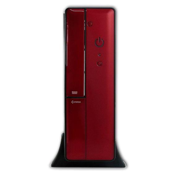 Gabinete Mini Itx Pixxo Ht8102 Red  com Fonte Real 200w