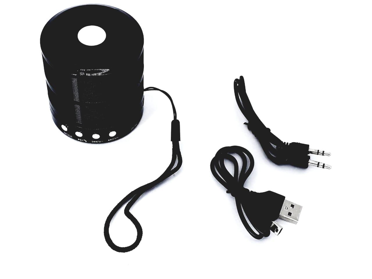 Kit 2 peças Caixa Caixinha Som Bluetooth + Fone ouvido bluetooth