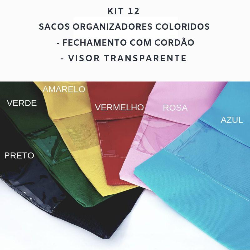 Kit Organizador para Casa Completo Sacos Organizadores